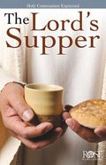 The Lord's Supper (Rose Guide Series) eBook