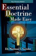 Essential Doctrine Made Easy (Rose Guide Series)