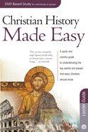 Christian History Made Easy (Leader Guide) (Rose Bible Basics Series) eBook