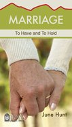 Marriage (Hope For The Heart Series) eBook
