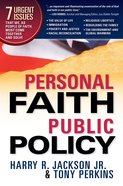 Personal Faith, Public Policy eBook