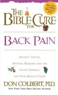 The Bible Cure For Back Pain eBook