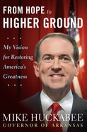 From Hope to Higher Ground eBook