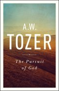 The Pursuit of God eBook