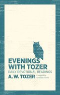 Evenings With Tozer eBook