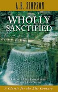 Wholly Sanctified eBook
