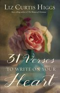 31 Verses to Write on Your Heart eBook