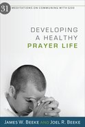 Developing a Healthy Prayer Life eBook