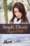 Simple Deceit (#02 in Harmony Series) eBook
