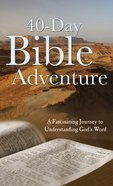 40-Day Bible Adventure eBook