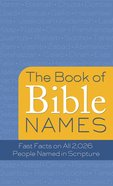 The Book of Bible Names eBook