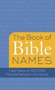 The Book of Bible Names eBook