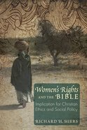 Women's Rights and the Bible Paperback