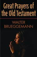Great Prayers of the Old Testament eBook