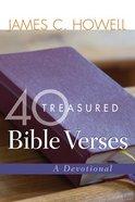 40 Treasured Bible Verses eBook