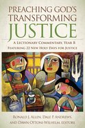 Preaching Gods Transforming Justice eBook