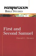 1 & 2 Samuel (Interpretation Bible Study Series) eBook