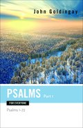 Psalms For Everyone, Part 1 (Old Testament Guide For Everyone Series) eBook