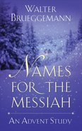 Names For the Messiah eBook