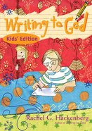 Writing to God eBook