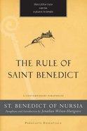 The Rule of Saint Benedict eBook