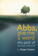 Abba, Give Me a Word eBook