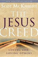 The Jesus Creed eBook