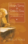 Hungry Spring and Ordinary Song eBook