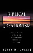 Biblical Creationism eBook
