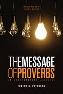 Message: The Book of Proverbs eBook