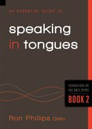 Speaking in Tongues (#02 in The Essential Guide To Series) eBook