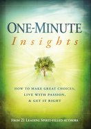 One-Minute Insights eBook