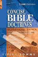 The Amg Concise Bible Doctrines eBook