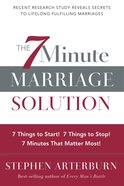 The 7 Minute Marriage Solution eBook