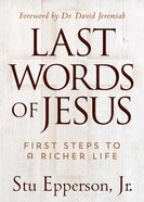 The Last Words of Jesus eBook