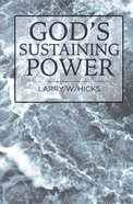 God's Sustaining Power eBook