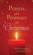 Prayers and Promises For Christmas eBook