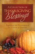 A Collection of Thanksgiving Blessings eBook