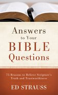 Answers to Your Bible Questions eBook