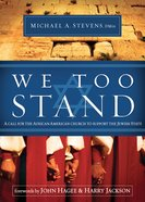We Too Stand eBook