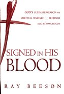 Signed in His Blood eBook