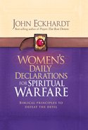 Women's Daily Declarations For Spiritual Warfare eBook