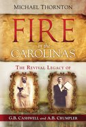 Fire in the Carolinas eBook