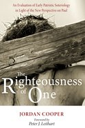 The Righteousness of One eBook
