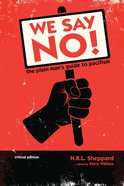 We Say No! eBook