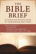 Bible Brief, the 3-In-1 eBook