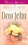 Dear John (#693 in Heartsong Series) eBook