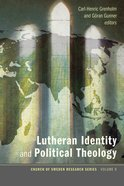 Lutheran Identity and Political Theology Paperback