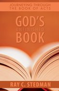 God's Unfinished Book eBook