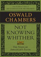 Not Knowing Whither eBook